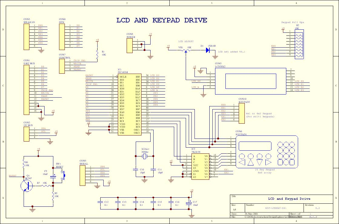 Iset Labos Electronique J Lepot Led Using 555 Http Www Circuitdiagram Org Fading Pulsing Pic Lcd And Keypad Driver